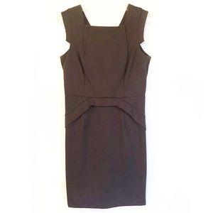 Jennifer Lopez Brown Sheath Dress